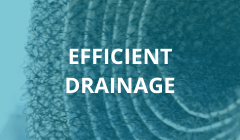 Efficient drainage mats EnkaDrain by Enka Solutions copyrights Low & Bonar