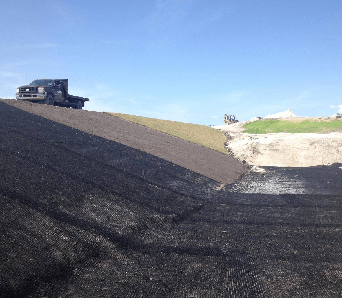 EnkaMat Erosion control Dry & Wet slopes Copyrights Low & Bonar_Enka Solutions (4)