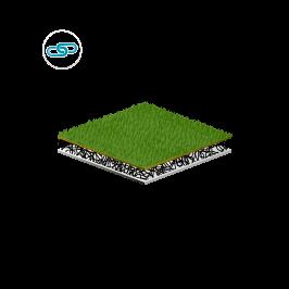 Sports_Vegetation carrier Green roofs_Vegetation carrier by Enka Solutions copyrights Low & Bonar